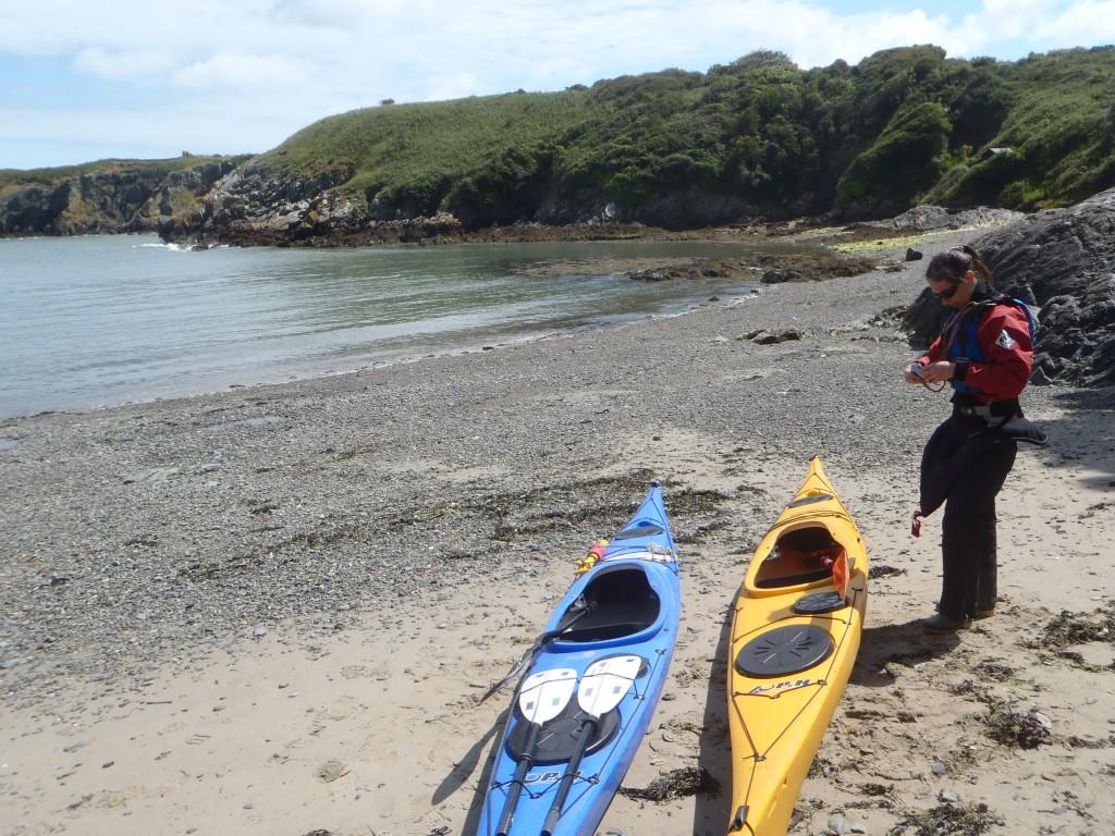 Sea kayaking courses North Wales