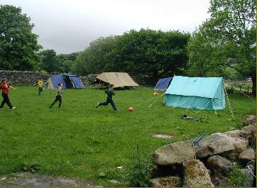 Camping at Bach Ventures