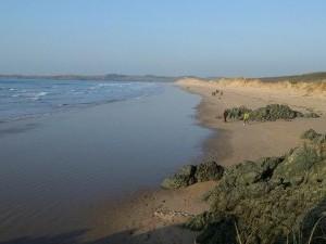Dunes off Llanddwyn Island, Anglesey